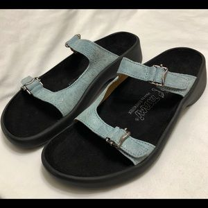 Birkenstock Tatami Leather Strap Sandals